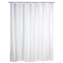 Wenko Duschvorhang (B x H) 180cm x 200cm Polyester Weiß rostfrei, waschbar