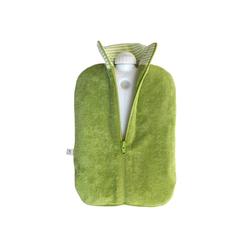 Hugo Frosch Wärmflasche, Öko-Wärmflasche 2,0 L mit Bio-Bezug Kiwi