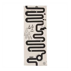 Kinderteppich Adventure Rug, OYOY, Kinderteppich, Straßenteppich, Spielteppich, 180 x 70 cm, Autoteppich
