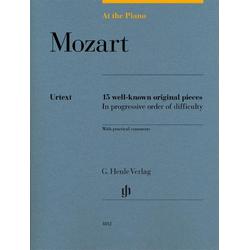 At the Piano - Mozart als Buch von Wolfgang Amadeus Mozart