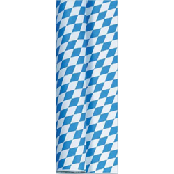 DUNI Saisonaktion O´zapft is! Tischtuchrolle, Papier Tischtuchrollen, Bayerische Raute, 1 Rolle à 1 Meter x 50 Meter