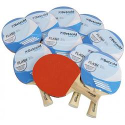 Tischtennisschläger Flash, 10er-Set