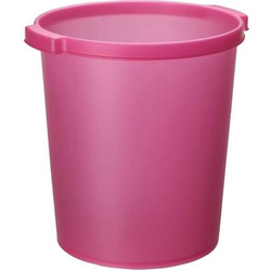Papierkorb Silky Touch 15l rosa