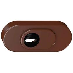 BASI Schutzrosette SR 100 ZA - Schutzrosette mit Zylinderabdeckung, 287 g braun