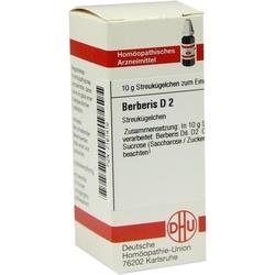 BERBERIS D 2 Globuli 10 g