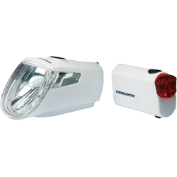 Trelock Fahrradbeleuchtung LS 360 I-GO ECO weiß
