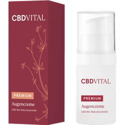 Augencreme PREMIUM CBD Bio Naturkosmetik 15 ml