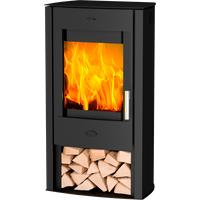 Fireplace Tuvalu Stahl schwarz