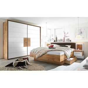 uno Schlafzimmer 4-teilig, mit Bettkasten Campus ¦ holzfarben