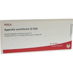 APPENDIX vermiformis GL D 30 Ampullen 10X1 ml