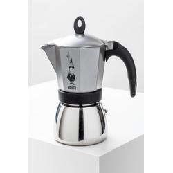 Bialetti Espressokocher Moka Induktion anthrazit 6 Tassen