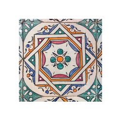 Casa Moro Fliesenaufkleber Orientalische Keramik Fliesen handbemalte marokkanische Fliese Samia 10 x 10 cm, Wandfliese für schöne Küche Badezimmer