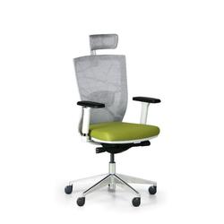 Bürostuhl designo, weiß/grün