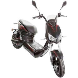 SXT Scooters Raptor V3 E-Roller Schwarz, Rot Blei-Gel 72V 20Ah