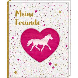 Freundebuch - Pferdefreunde - Meine Freunde als Buch von