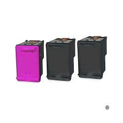 3 Ampertec Tinten für HP No 300  2 x schwarz+3-farbig / 3-fache Füllmenge