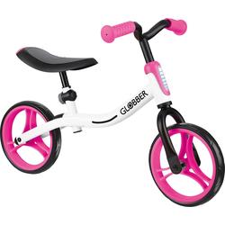 Globber Laufrad GLOBBER Go Bike weiß/pink rosa