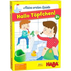 Haba Spiel, Meine ersten Spiele - Hallo Töpfchen!, Made in Germany bunt