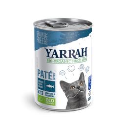 Yarrah Pate Katzenfutter mit Bio Fisch Katzenfutter