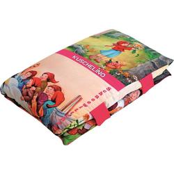 Dekokissen Märchenbuch, Ein Kissen und Märchenbuch zugleich bunt
