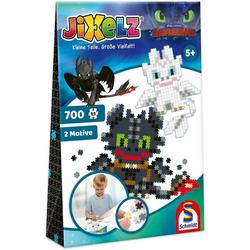 SCHMIDT systemprofile Puzzle Dragons. JIXELZ 700 Teile, Puzzleteile