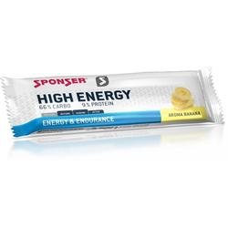 Sponser High Energy Bar, 30 x 45 g Riegel (Geschmack: Banane)