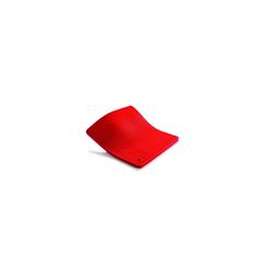 WOLL Topfhandschuhe Silikon Topflappen Silikon Topflappen, (1-tlg) rot