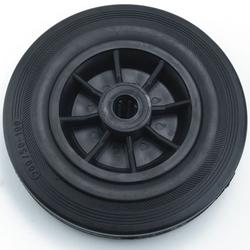 Vollgummiräder / Vollgummirollen d=200 mm Achs-d=20 mm