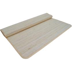 Teppich Bambusmatte 140*200 cm, Guru-Shop, Höhe 200 mm