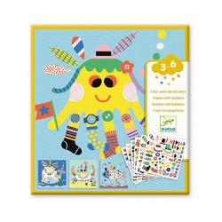 DJECO Sticker Sticker - Stickerbilder Meerestiere