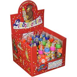 Liebesperlen Babyfläschen mit Spielzeug Aufsteller Inhalt 1750g