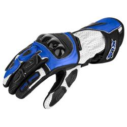 Motorradhandschuhe von XLS Race Line Blau
