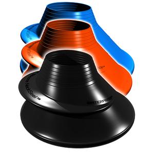 WP Silikon Halsmanschette - Größe: Standard - Farbe: schwarz