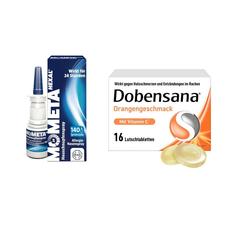 Heuschnupfen Hals & Vitamin C Set