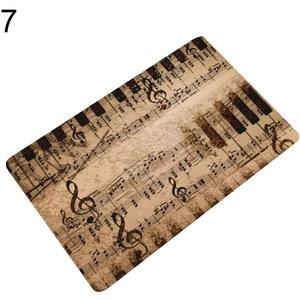 Teppiche für Heimdekoration, Klaviertastatur, Note, Flur, Fußmatte, Fußmatte, rutschfest, perfekte Wahl für Heimdekoration