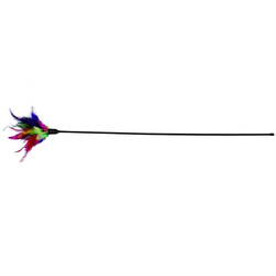 TRIXIE Spielstab Spielzeug für Katze 50 cm