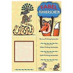 Der Fabel-Führerschein  Klassensatz Führerscheine. Ute Hoffmann  - Buch