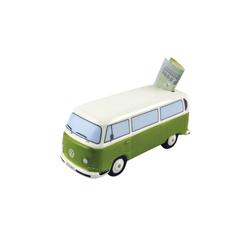 VW Bulli T2 Spardose grün