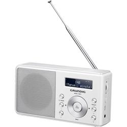 Grundig Music 6000 DAB+ (FM, AM, DAB+, WLAN), Radio, Weiss