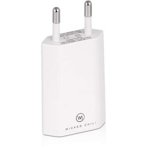 Wicked Chili 5W USB Power Adapter Netzteil kompatibel mit Apple Watch SE, Series 6, 5, 4, 3 (GPS Cellular 44mm 40mm) USB-A Ladegerät für Magnetisches Ladekabel, Ersatz für MGN13ZM/A (1000mA)