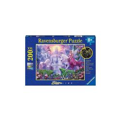 Ravensburger Puzzle Puzzle Magische Einhornnacht, 200 Teile, Puzzleteile