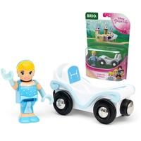 BRIO Disney Princess Cinderella mit Waggon