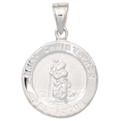JOBO Kettenanhänger Christopherus, 925 Silber