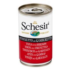 SCHESIR Thunfisch mit Garnelen 140 g