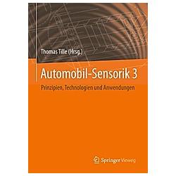 Automobil-Sensorik 3 - Buch