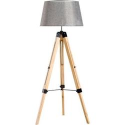 HOMCOM Stehlampe höhenverstellbar 65 x 65 x (99-143) cm (LxBxH)   Wohnzimmerlampe Standleuchte Stehleuchte Lampe
