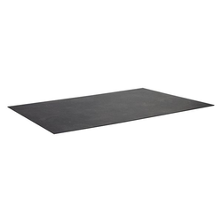 Zebra Alus/Opus Tischplatte 180x100x1,3cm Kunststoff-Laminat Braun