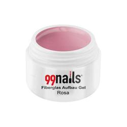 Fiberglas Aufbau Gel - Rosa 5ml - Fiberglasgel Fieberglas Aufbaugel