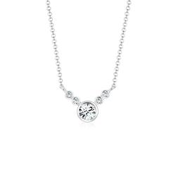 Elli Collierkettchen Collier Kristalle 925 Sterling Silber