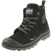 Palladium Pampa Hi Zip WL 95982-010-M Black/Black 1, Größe: 38